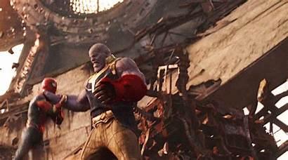 Avengers Thanos Spider Vs Infinity War Fanpop