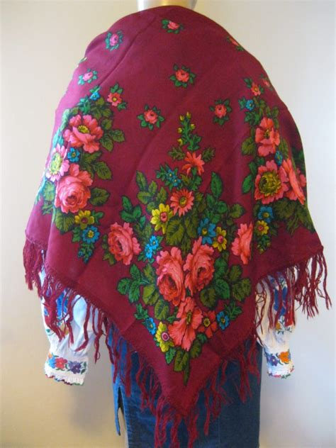 romanian traditional wool head dress romanian woolen