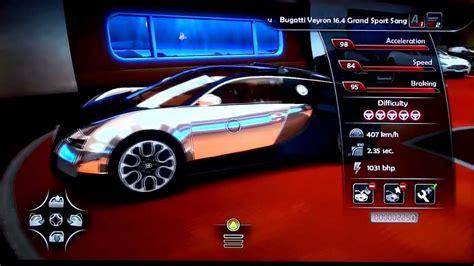 Bugatti Veyron Grand Sport Sang Bleu Gameplay, Looks And