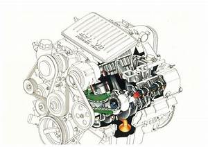 Grand Cherokee 4 7 V8 Engine Cutaway  1999