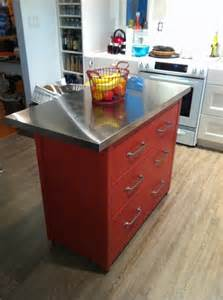 small mobile kitchen islands hemnes kitchen island ikea hackers ikea hackers