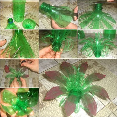 Ideas Using Plastic Bottles creative diy plastic bottle flower icreativeideas