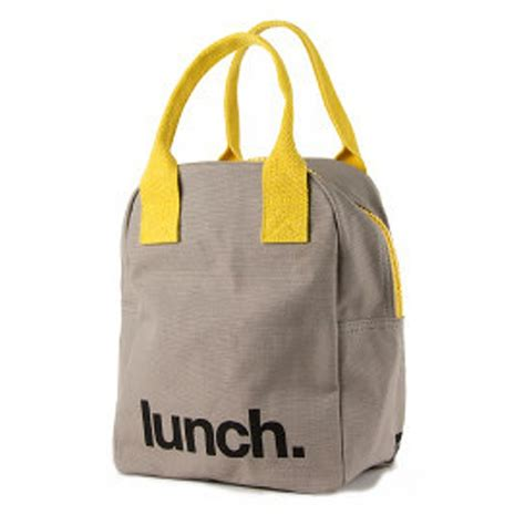 glass lunch containers fluf zip organic cotton lunch bag lunch à porter