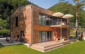 Moderne Container Häuser : m haus passivhaus niedrigenergiehaus fertighaus holzbau h user pinterest holzbau ~ Whattoseeinmadrid.com Haus und Dekorationen