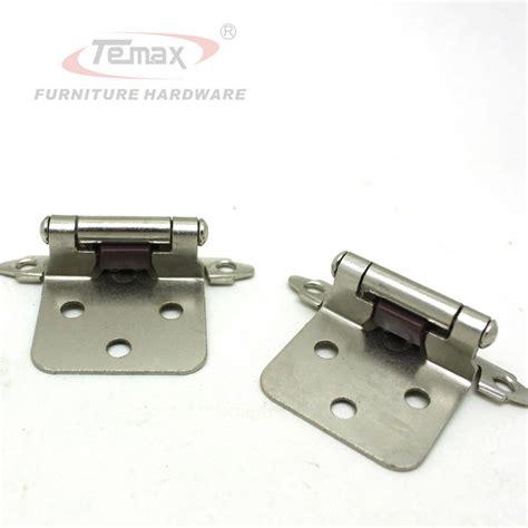 cabinet door hardware hinges 1 pair satin nickel flush type self close cabinet hinge
