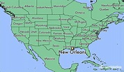 Where is New Orleans, LA? / New Orleans, Louisiana Map ...