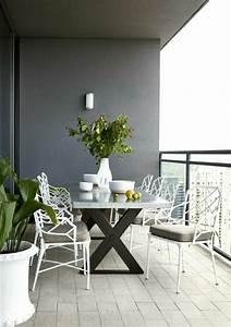 schoner garten und toller balkon gestalten ideen und With französischer balkon mit sitzgruppe garten sale