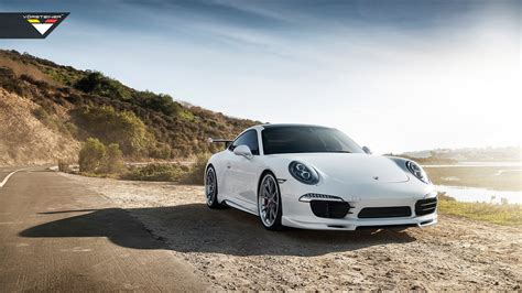 Porsche 911 Carrera S, Porsche Carrera 4, Car, White Cars