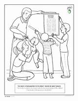 Coloring Missionary Pages Lds Getcolorings Printable sketch template