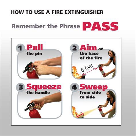 extinguisher use