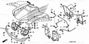 Honda Atv 2007 Oem Parts Diagram For Front Fender