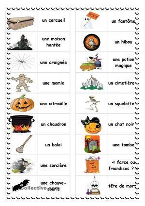 halloween en images halloween worksheets halloween