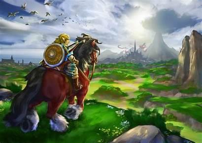 Zelda Breath Wild Legend Wallpapers Fan Link