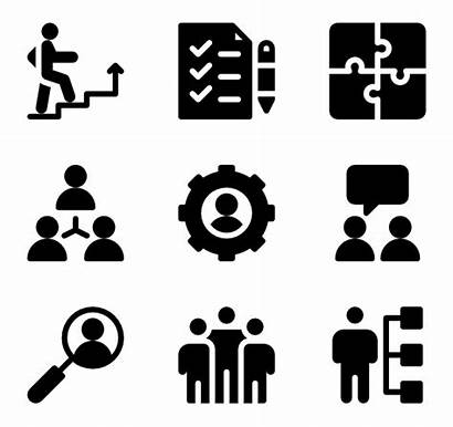 Training Icon Coaching Icons Success Resources Business