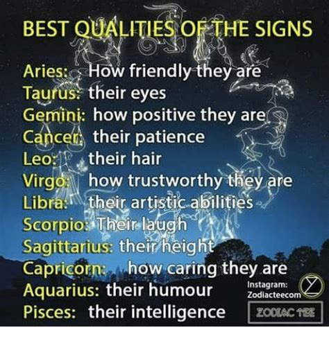 best qualities of a taurus best qualities oethe signs aries how friendly they are taurus their gemini how positive