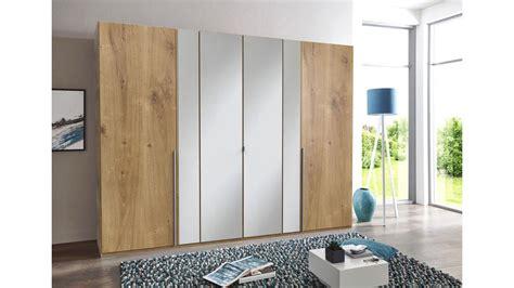 kleiderschrank vanea schrank plankeneiche spiegel 270 cm