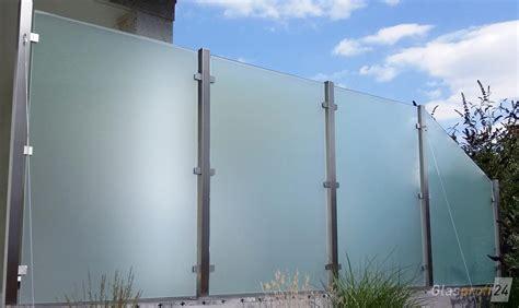 Sichtschutz Garten Milchglas by Sichtschutz Terrasse Milchglas