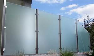 sichtschutz aus glas fur den garten glasprofi24 With sichtschutz glas terrasse