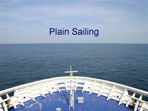 plain sailing powerpoint template