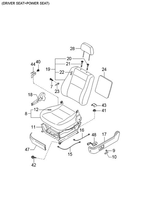 Genuine Kia Way Seat Switch Assembly