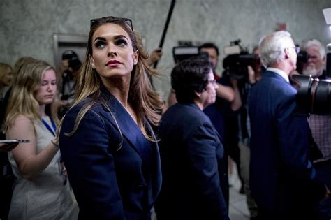 Hope Hicks Communications Director