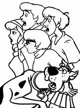 Scooby Doo Coloring Pages Printable Cartoons sketch template