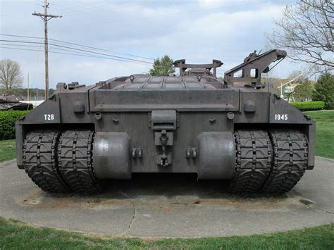 T-28 Super Heavy Tank (t95 105mm Gun Motor Carriage
