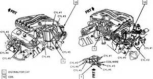 V6 Engine Diagram With Name by 1991 Anniversary Rs Camaro V6 What Is The Firing Order On