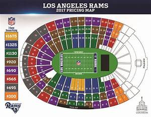 La Coliseum Seating Chart With Seat Numbers Brokeasshome Com