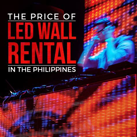 wall light price philippines the price of led wall rental in the philippines blog professional lights sounds rentals