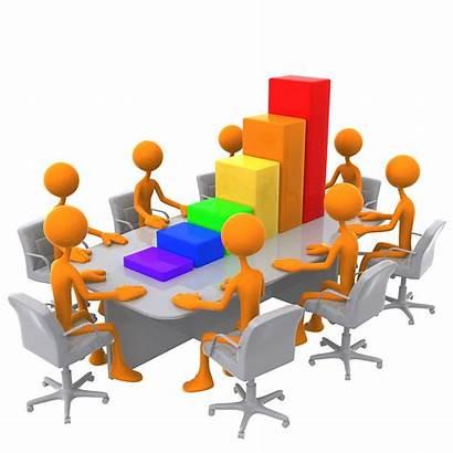 Meeting Bar 3d Graph Clipart Business Results