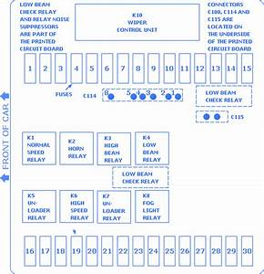 Bmw 325i 1989 Fuse Box  Block Circuit Breaker Diagram