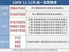 統一發票108年11-12月千萬獎號碼:59647042   生活   重點新聞   中央社 CNA