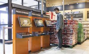 Beer Store Replaces Static Displays With Interactive Kiosks