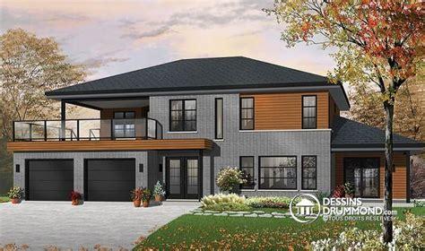 photos and inspiration house plans with car garage d 233 du plan de maison multi logements w3046