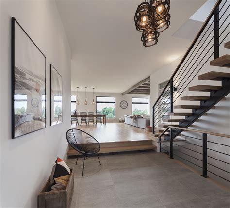 cuisine ouverte avec ilot notre maison modèle est maintenant à vendre guilmain design