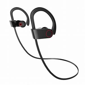 For Apple Iphone 5 New U8 Bluetooth Wireless Sports Gym Running Headphones