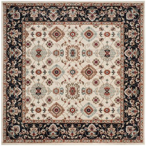 7 square area rug safavieh lyndhurst navy 7 ft x 7 ft square area