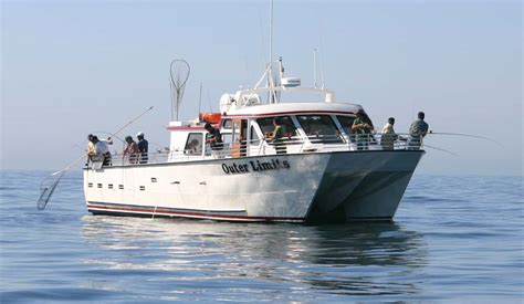Fishing Boat Charter San Francisco by San Francisco Bay Area Sportfishing Charters Outer Limits