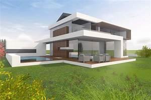 Moderne Häuser Mit Satteldach : architektenhaus satteldach in moderner architektur bauen na zewn trz haus satteldach i ~ Eleganceandgraceweddings.com Haus und Dekorationen