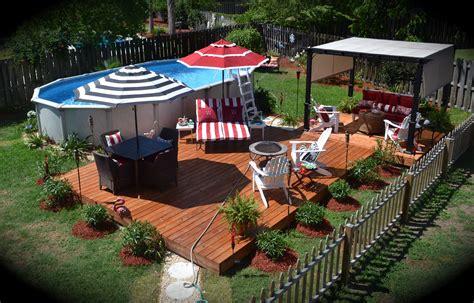Backyard Ideas   Ground Pool Mystical Designs