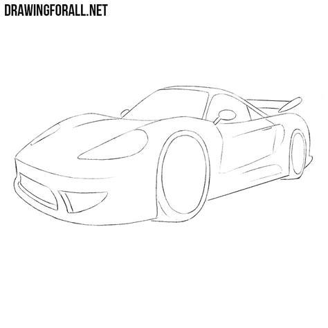 draw  cartoon sports car drawingforallnet