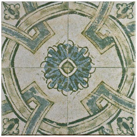 vintage floor tiles for merola tile klinker retro blanco coreo 12 3 4 in x 12 3 4 8832