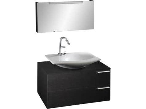 stillness meuble sous vasque 224 poser l 80 x p 48 5 x h 40 cm laque satin 233 e nuit bleue