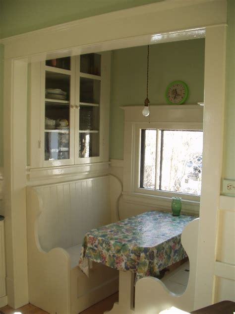 Kitchen Nook Uk by An Original 1920 S Kitchen Nook Complete With Pendant