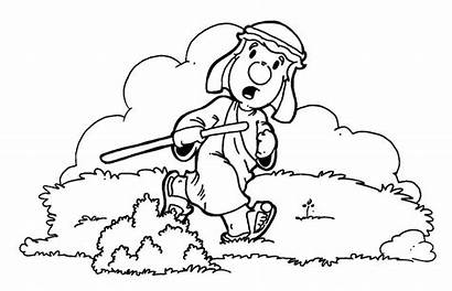 Sheep Lost Coloring Parable Pages Bible Quotes