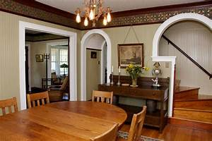 dining room and staircase - Hooked on Houses