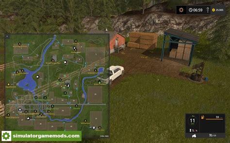 fs broncecrest valley map  simulator games