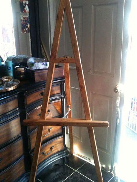 wooden easel ideas  pinterest easels diy