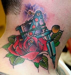 Tattoo Machine Tattoo Images & Designs